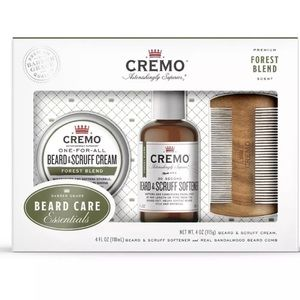 Cremo Men Beard & Mustache care set Forest blend